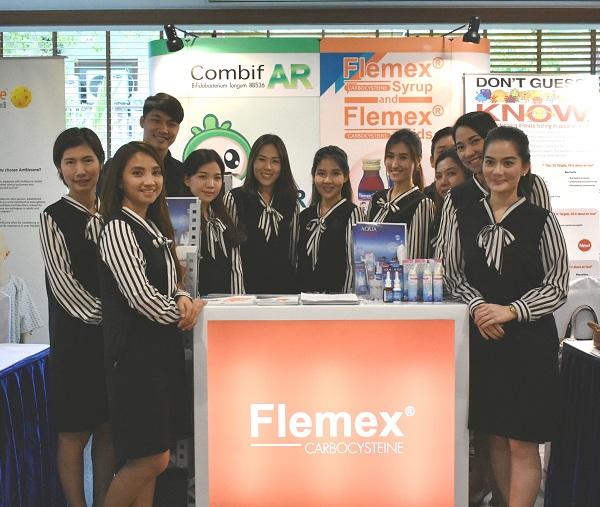 ออกบูธเชิงวิชาการในงาน การประชุมใหญ่ประจำปี 2560 ครั้งที่ 21 สมาคมโรคติดเชื้อในเด็กแห่งประเทศไทย