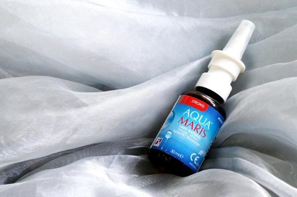 สเปรย์พ่นจมูกจากน้ำทะเลธรรมชาติ100% Aqua Maris Strong Nasal Spray