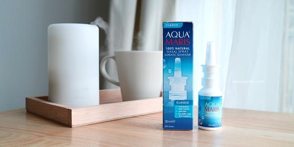 Aqua Maris Nasal Spray สเปรย์พ่นจมูก ฮีโร่ของคนโพรงจมูกแห้ง